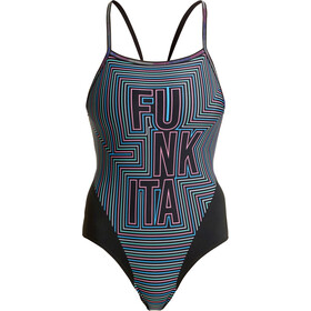 Funkita Single Strap Badeanzug Damen use your illusion